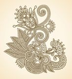 Flowers vector illustration Royalty Free Stock Photos