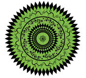 Flowers Vector. Round Flowers,circle. Very fancy design Stock Photo