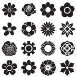 Flowers vector set, EPS10 Royalty Free Stock Images