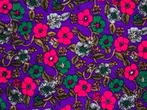 Flowers on velvet Royalty Free Stock Images
