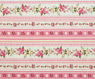 Flowers vintage pattern. Antique floral fabric pattern useful for textures and background Royalty Free Stock Photos
