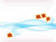 Flowers in water Royalty Free Stock Photography