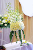 Flowers in wedding Stock Image