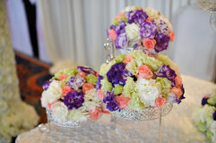 Flowers in wedding Stock Photo