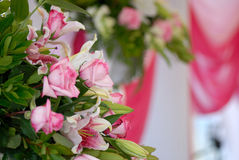 Flowers on the wedding Royalty Free Stock Photo