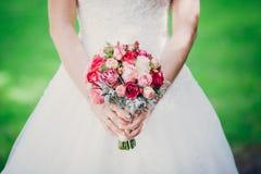 Flowers wedding bride groom. Decoration Stock Images