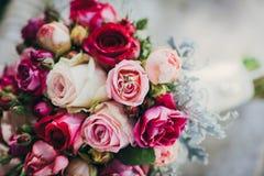 Flowers wedding bride groom. Decoration Royalty Free Stock Photography