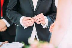 Flowers wedding bride groom. Decoration Royalty Free Stock Photo