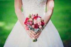 Flowers wedding bride groom. Decoration Royalty Free Stock Image