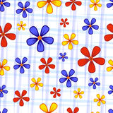 Flowers on white Stock Image
