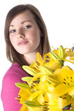 Flowers for you... Stock Photo