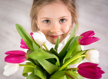 Flowers for you Stock Image