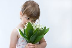 Flowers for you, mum! Stock Image