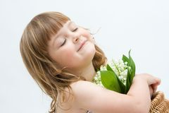 Flowers for you, mum! Stock Photography
