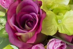 Flowersbouquet artificial Fotografía de archivo libre de regalías