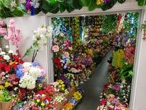 Flowershop w Asiamarket Berlin Zdjęcia Stock