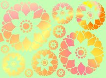 Flowery Background Royalty Free Stock Photography
