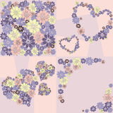 Flowery backgrounds Royalty Free Stock Photo