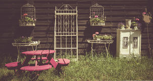 Flowery decorations. Royalty Free Stock Photo