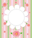 A flowery designed stationery Stock Photo