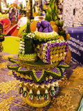 Flowery Object at the Festival of the Orient in Rome Italy. The Festival of the Orient was held at the Exhibition Centre near Rome Airport at Fumincino on the Stock Photos