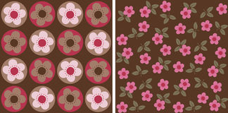 Flowery pattern Stock Photos