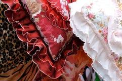 Flowery pillow Stock Photos