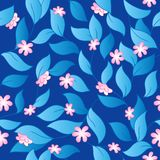 Flowery seamless background 3 Royalty Free Stock Photos