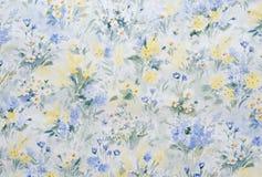 Flowery wallpaper Stock Photo