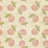 Flowery wallpaper background Stock Image