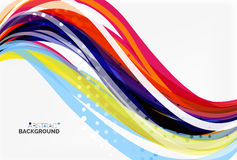 Flowing abstract background Royalty Free Stock Images