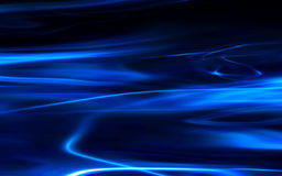 Flowing blue background Stock Photos