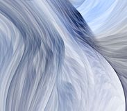 Flowing Blues Abstract Royalty Free Stock Photography