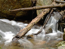 Flowing Brook in Winter Royalty Free Stock Photo