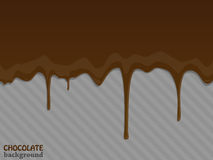 Flowing chocolate drops. Vector illustration. Flowing chocolate drops. Vector illustration eps 10 stock illustration