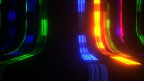 Flowing color lines VJ