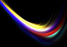 Flowing colors Royalty Free Stock Photo