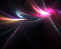 Flowing Electric Plasma. A glowing fractal design that works great as a background or backdrop Royalty Free Stock Photo