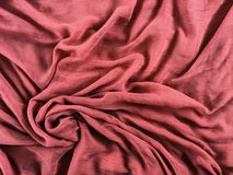 Flowing fabric Royalty Free Stock Image