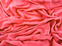 Flowing fabric Stock Image