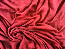 Flowing fabric Royalty Free Stock Images