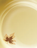 Flowing Fall Background. Soft fall background with room for copy space and bleed Royalty Free Stock Photos