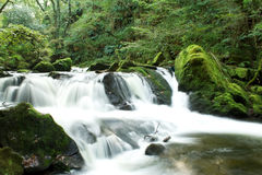 Flowing falls Royalty Free Stock Photography