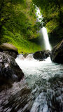 Flowing falls Stock Photos