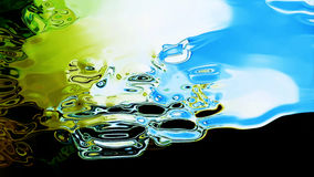 Flowing Fluid Abstraction 10855 Royalty Free Stock Photos