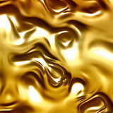 Flowing gold  abstract background Royalty Free Stock Photo