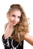 Flowing hair Stock Photos