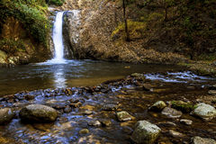 Flowing Jai Zon Waterfall Stock Photos