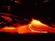 Flowing Lava II stock photos