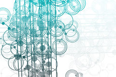 Free Flowing Lines And Circles Abstract Stock Image - 7148621